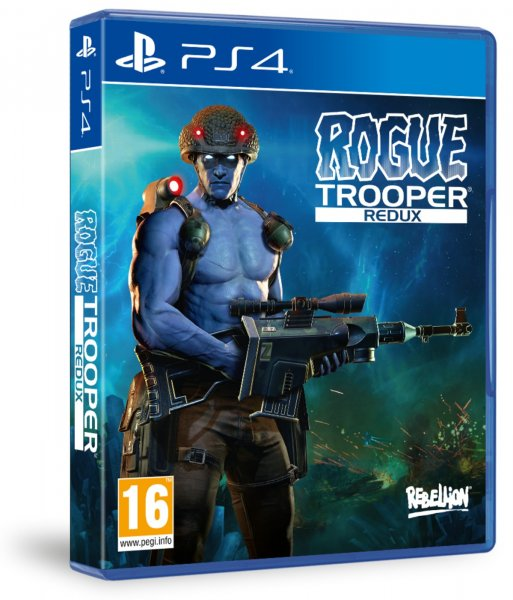 detail Rogue Trooper Redux - PS4