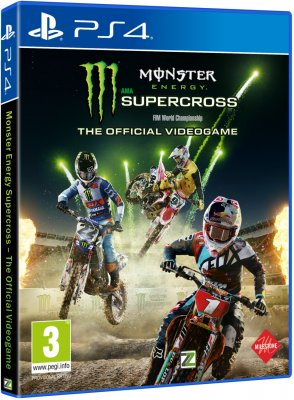 Monster Energy Supercross – The Official Videogame - PS4