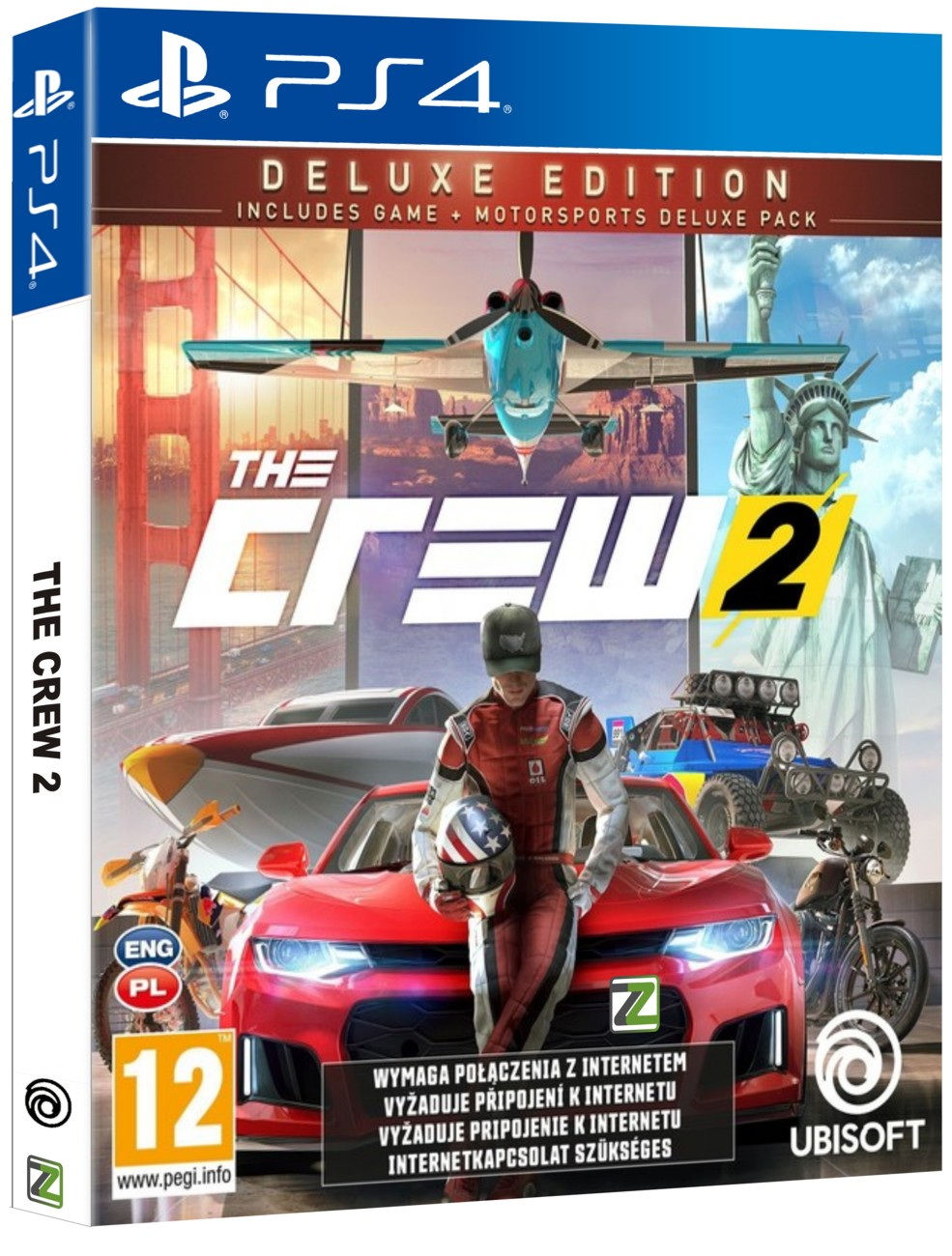 The Crew 2 Deluxe Edition - PS4