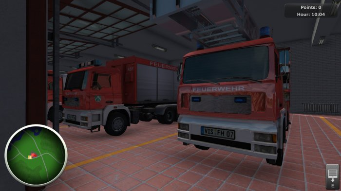 detail Firefighters The Simulation - PS4