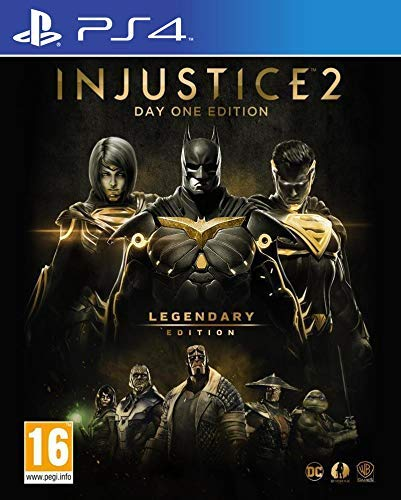 Injustice 2: Legendary Edition (GOTY) D1 Steelbook - PS4