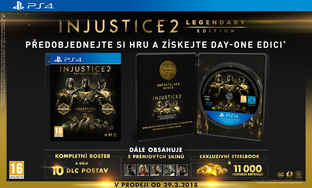 SONY PlayStation 4 - Injustice 2 legendary Edition