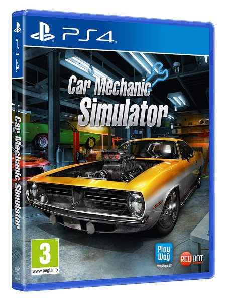 detail Car Mechanic Simulator - PS4