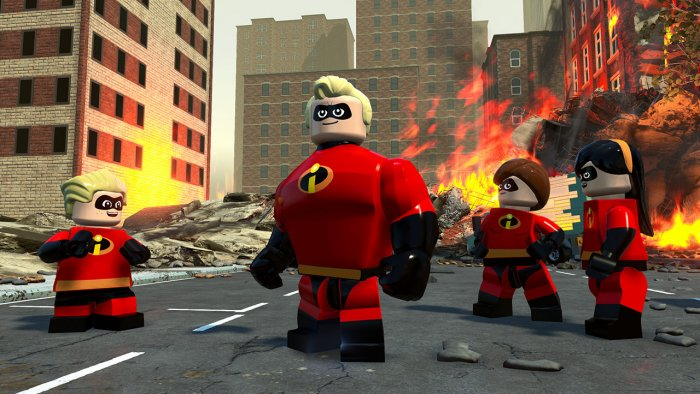 detail LEGO The Incredibles - PS4