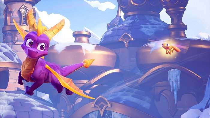 detail Spyro Trilogy Reignited - PS4