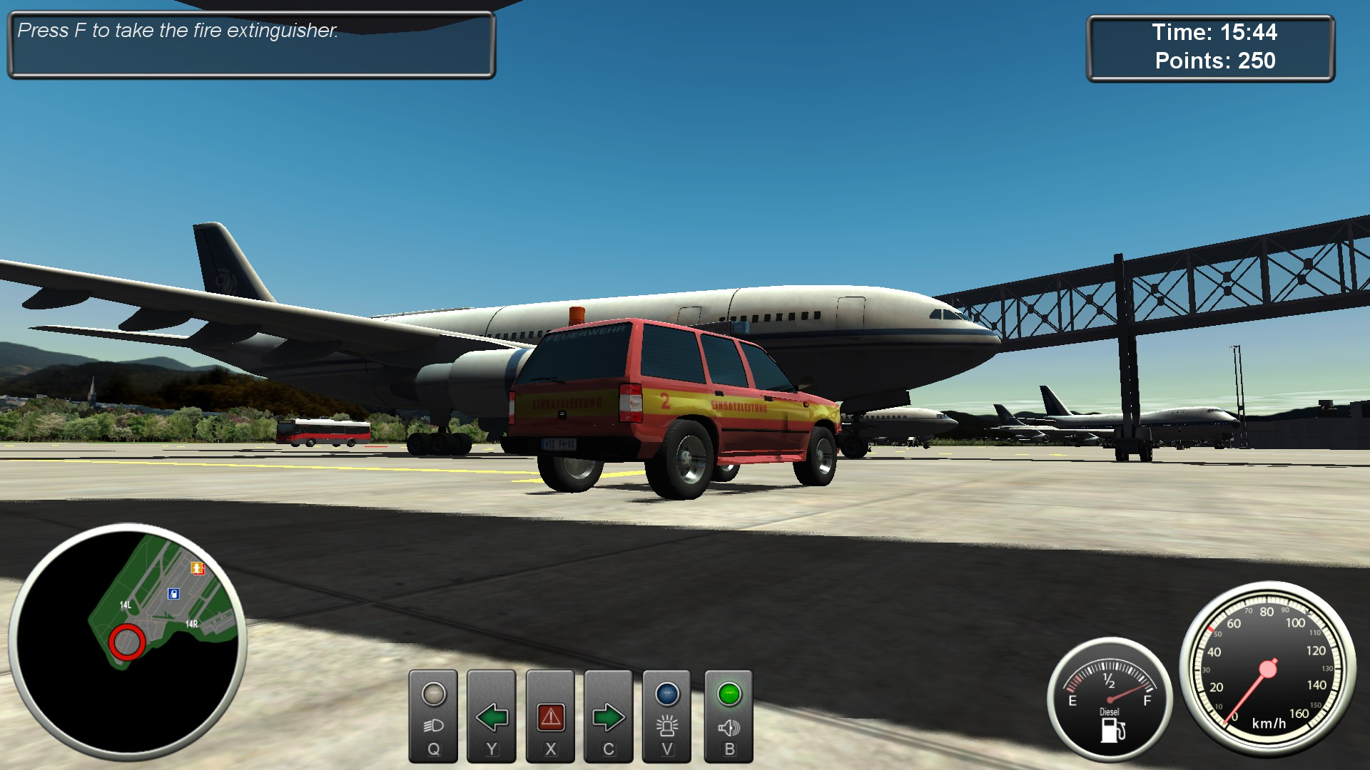 Firefighters Airport Fire Department pro PS4
