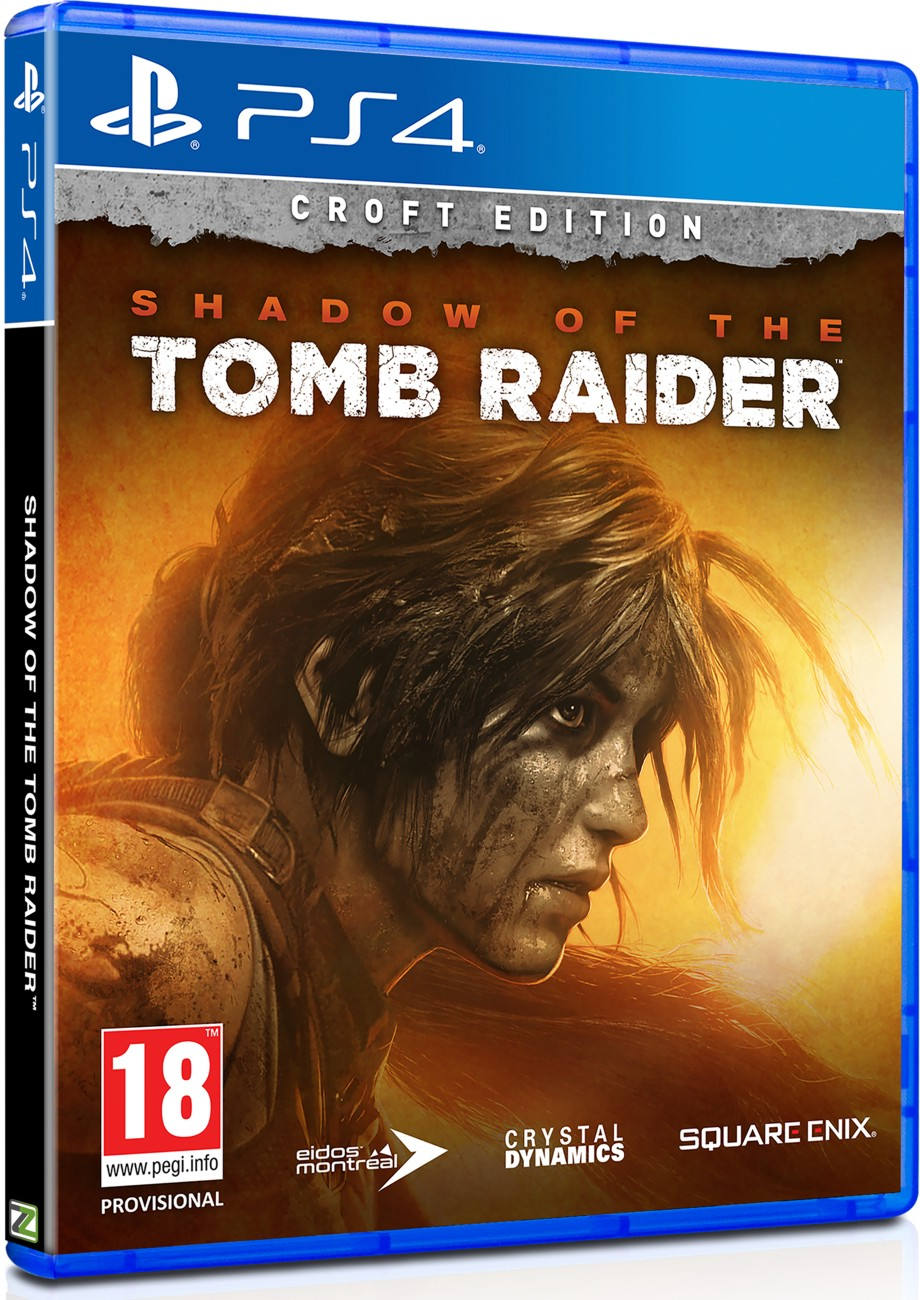 Shadow of Tomb Raider Croft Edition - PS4