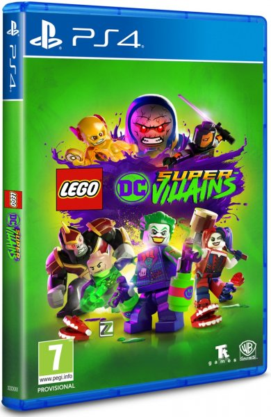 detail LEGO DC Super Villains PS4