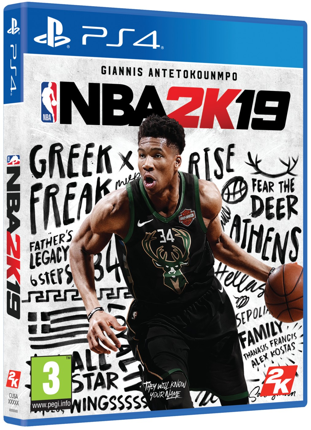 NBA 2K19 (Steelbook Edition) - PS4