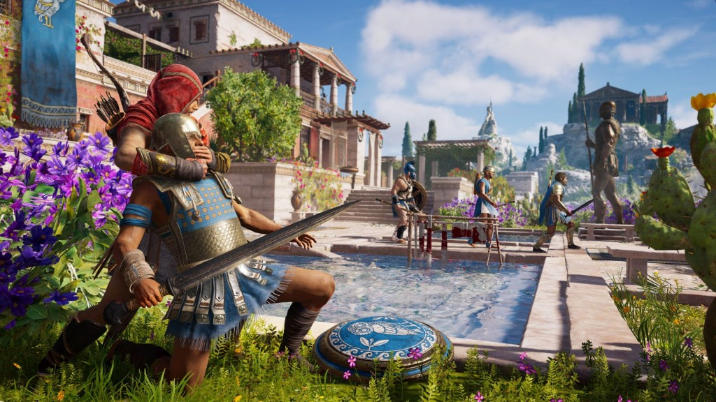 Assassin's Creed Odyssey pro PS4