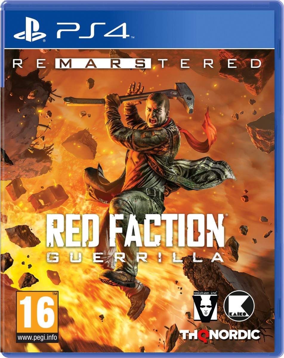 Red Faction Guerrilla Re-Mars-tered Edition - PS4
