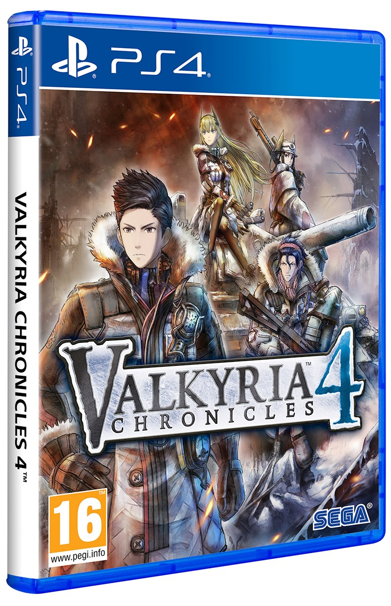 Valkyria Chronicles 4 Launch Edition- PS4