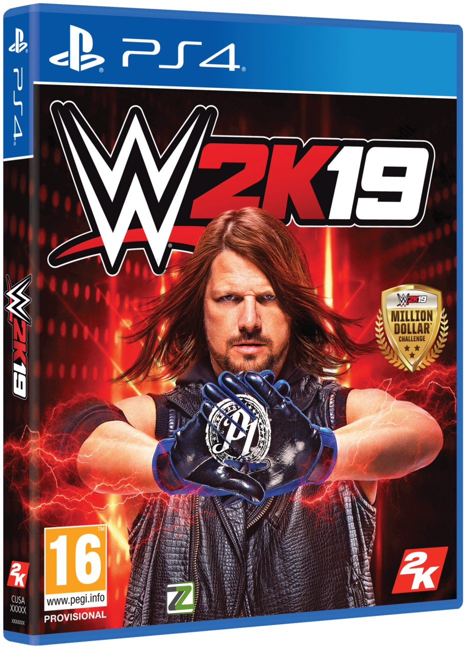 WWE 2K19 (Steelbook Edition) - PS4