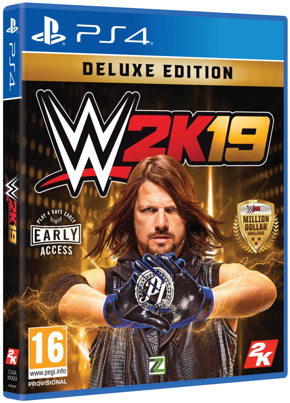 WWE 2K19 Deluxe Edition - PS4