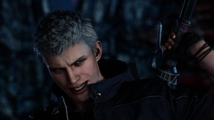 detail Devil May Cry 5 - PS4