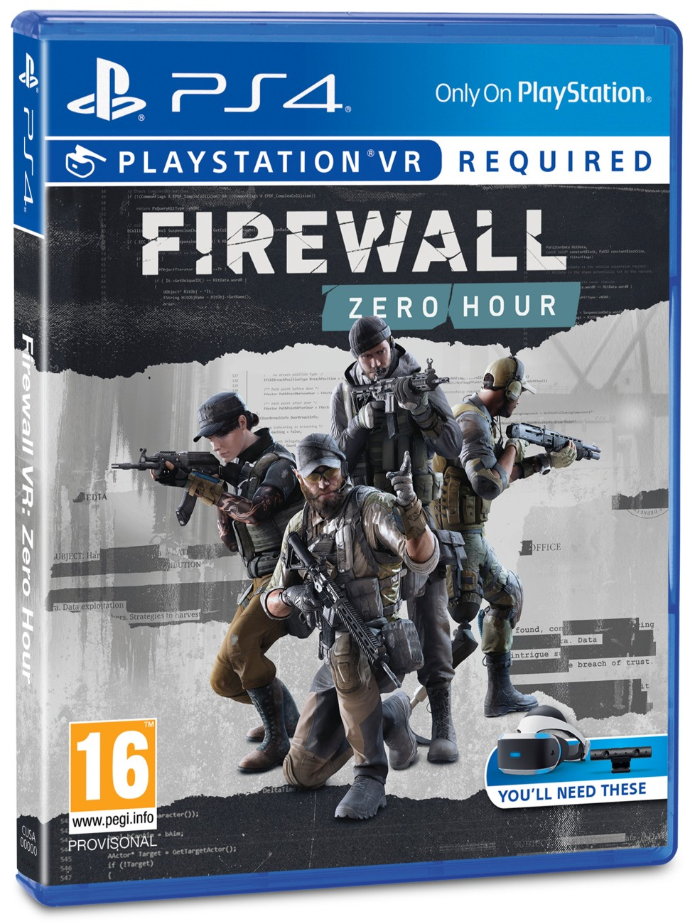 Firewall: Zero Hour - PS4 VR
