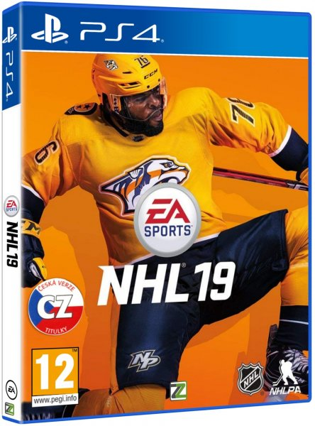 detail NHL 19 - PS4