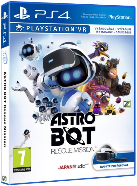 detail Astro Bot Rescue Mission - PS4 VR