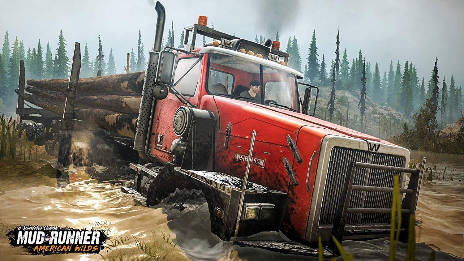 Spintires: MudRunner American Wilds Edition pro PS4