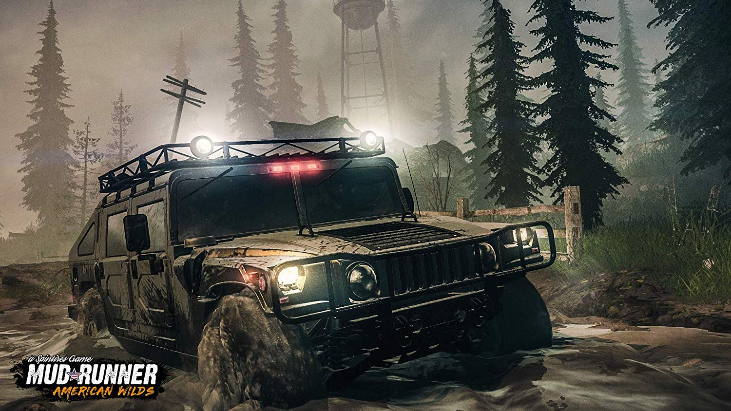 Spintires: MudRunner American Wilds Edition pro Playstation 4
