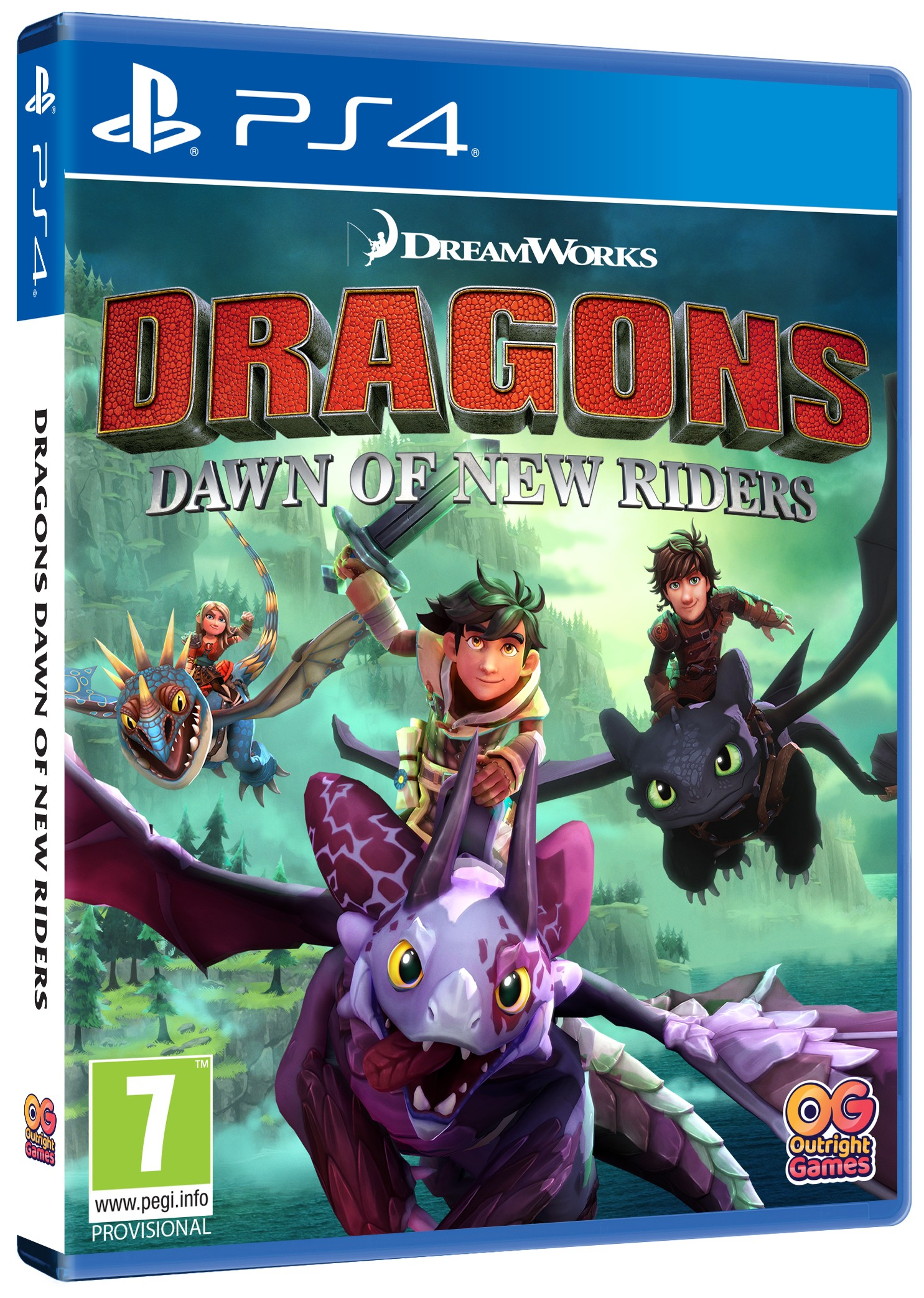 Dragons Dawn of New Riders (Jak vycvičit Draka) - PS4