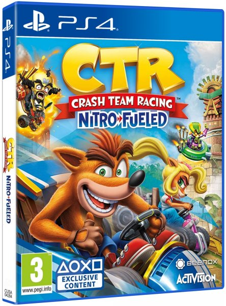 detail Crash Team Racing Nitro-Fueled - PS4