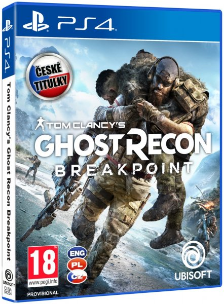 detail Tom Clancy's Ghost Recon Breakpoint PS4