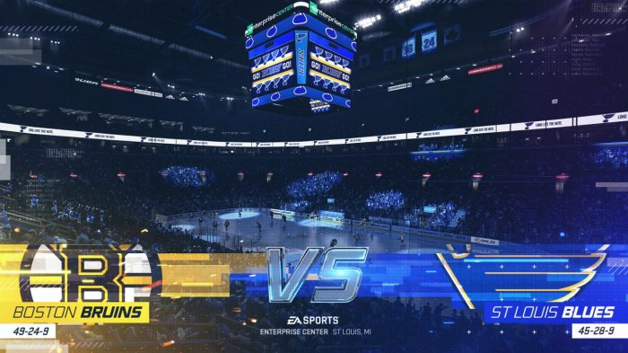 detail NHL 20 - PS4