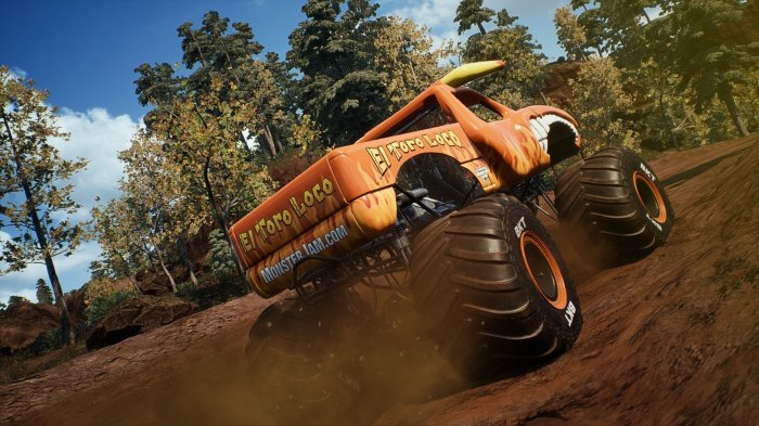 detail Monster Jam: Steel Titans - PS4