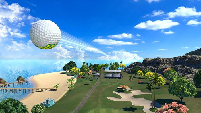 detail Everybody's Golf - PS4 VR