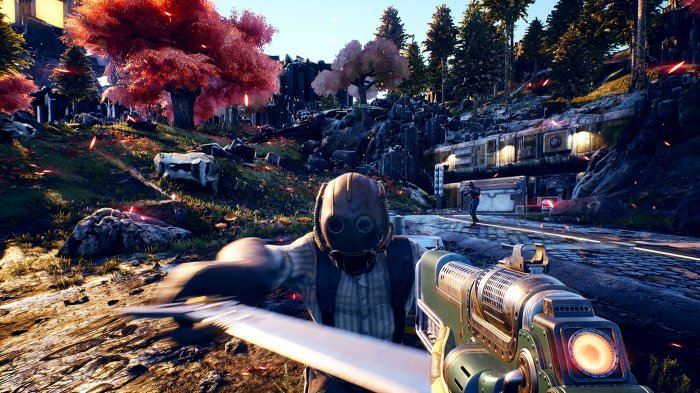 detail The Outer Worlds - PS4