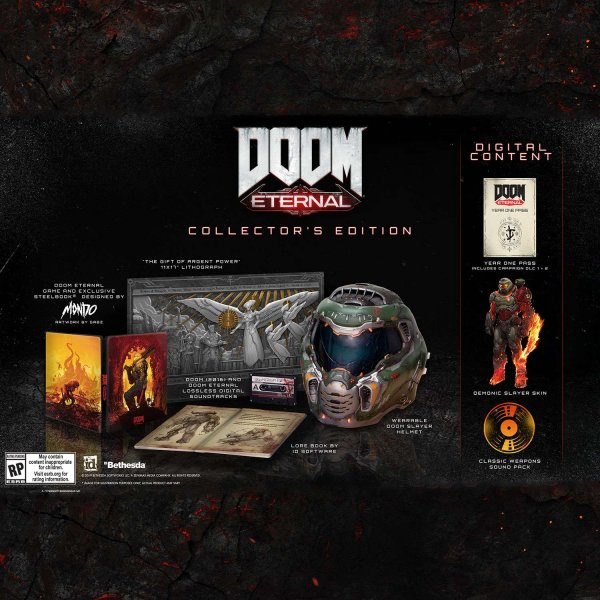 detail Doom Eternal Collector's Edition - PS4