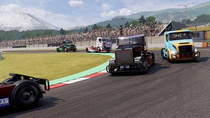 detail FIA European Truck Racing Championship - PS4