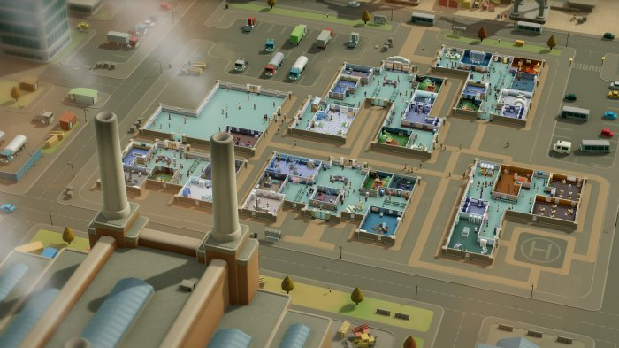 detail Two Point Hospital - PS4