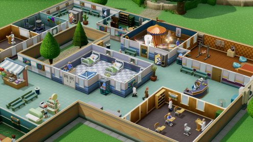 Two Point Hospital pro PS4