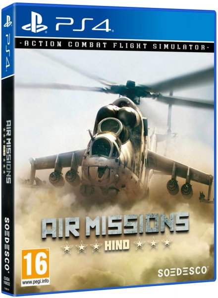 detail Air Missions: Hind - PS4