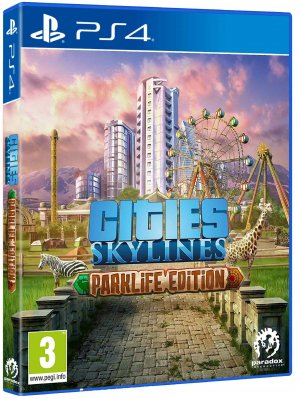 Cities Skylines: Parklife Edition - PS4