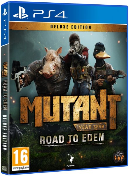 detail Mutant Year Zero: Road to Eden - Deluxe Edition - PS4