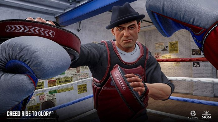 detail Creed - PS4 VR