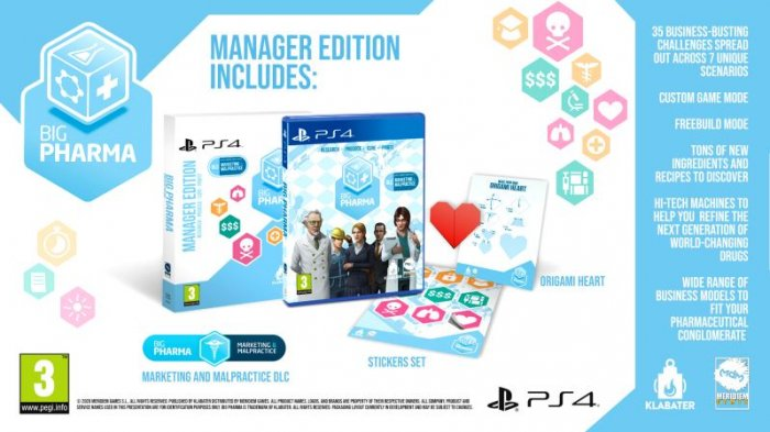 detail Big Pharma Special Edition - PS4