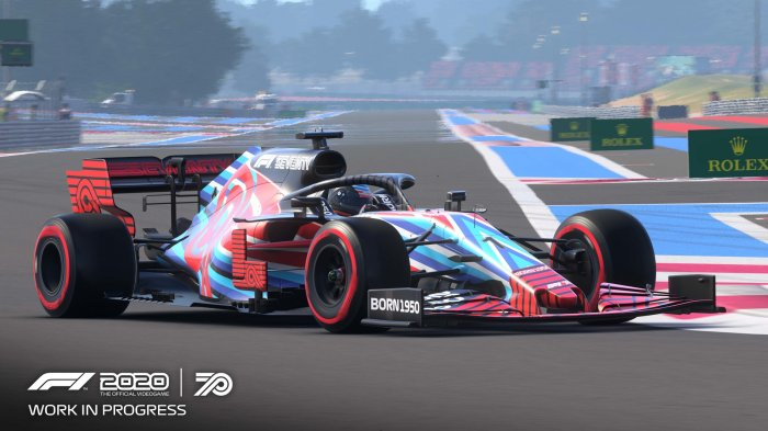 detail F1 2020 Standard Edition - PS4