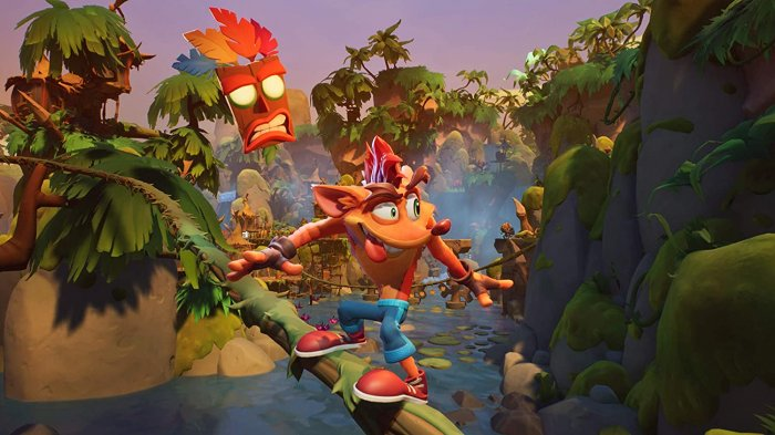 detail Crash Bandicoot 4: It's About Time - PS4