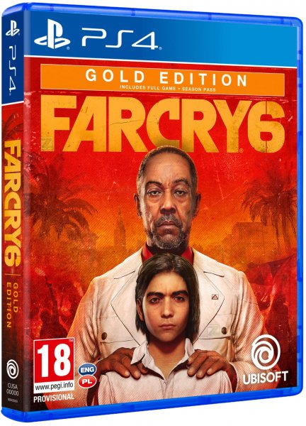 detail Far Cry 6 Gold Edition - PS4