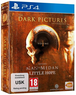 The Dark Pictures: Volume 1 (Man of Medan & Little Hope) Limited Edition - PS4