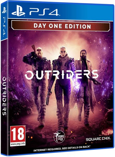 detail Outriders Day One Edition - PS4