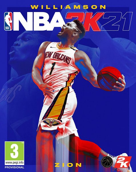 detail NBA 2K21 - PS5