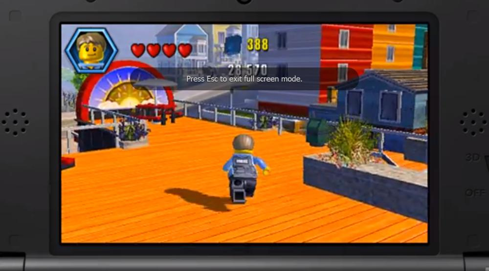 Nintendo 3DS - LEGO City: Undercover - The Chase Begins