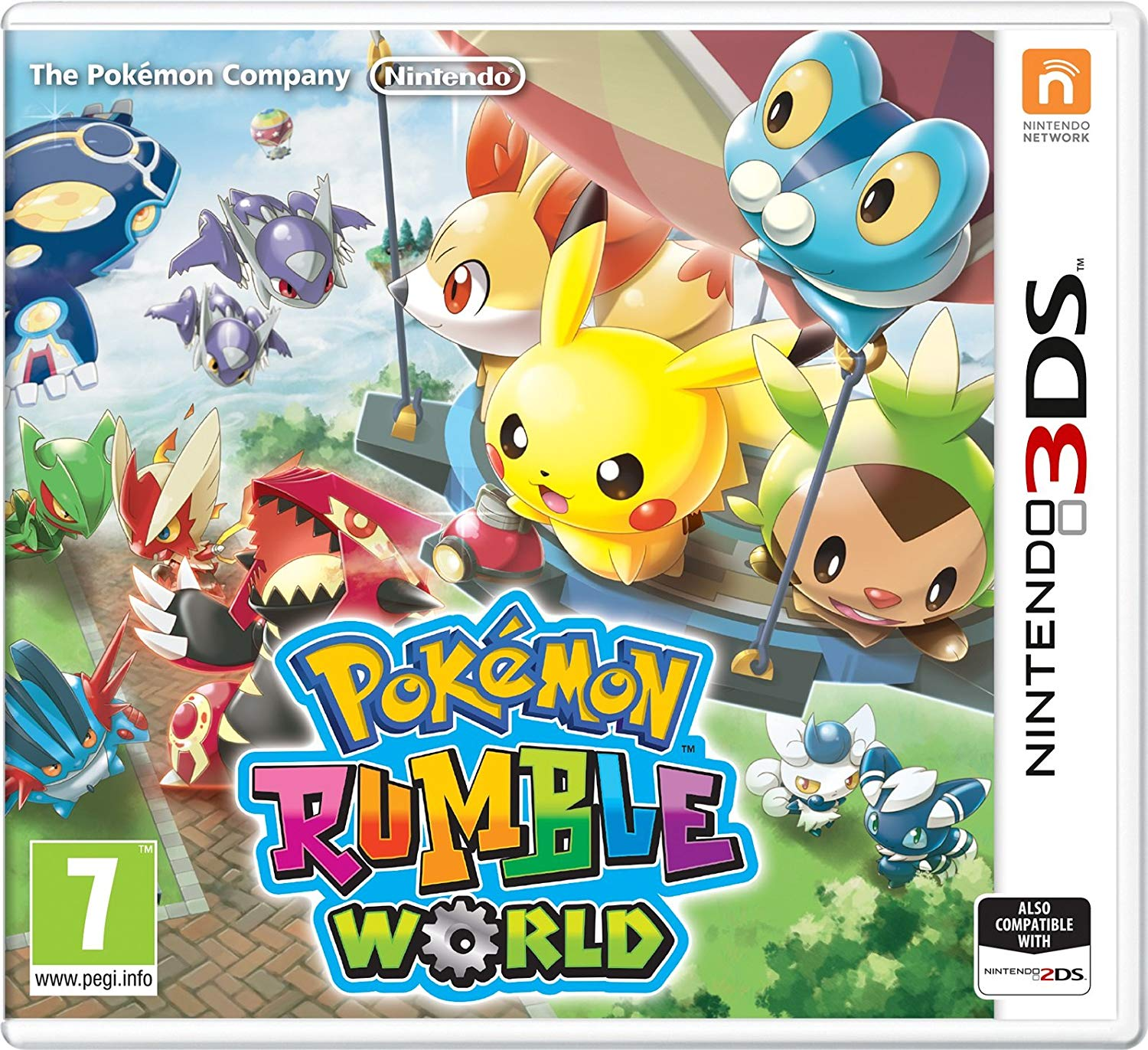 POKÉMON RUMBLE WORLD - 3DS