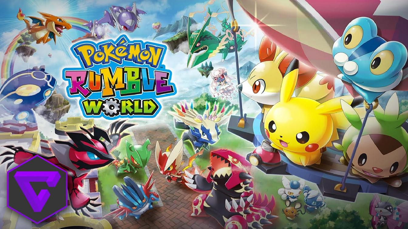 Nintendo 3DS - Pokémon Rumble World