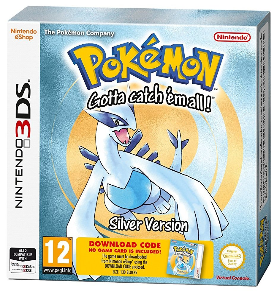 Pokémon Silver (Packaged Download Code) - 3DS